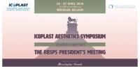 RBSPS Spring Meeting - ICOPLAST Aesthetics symposium  | Bruxelles (26.04.19 - 27.04.19)