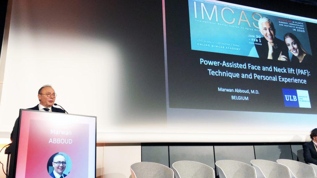 Dr Abboud à l'IMCAS 2020 - Ma Clinic à Bruxelles